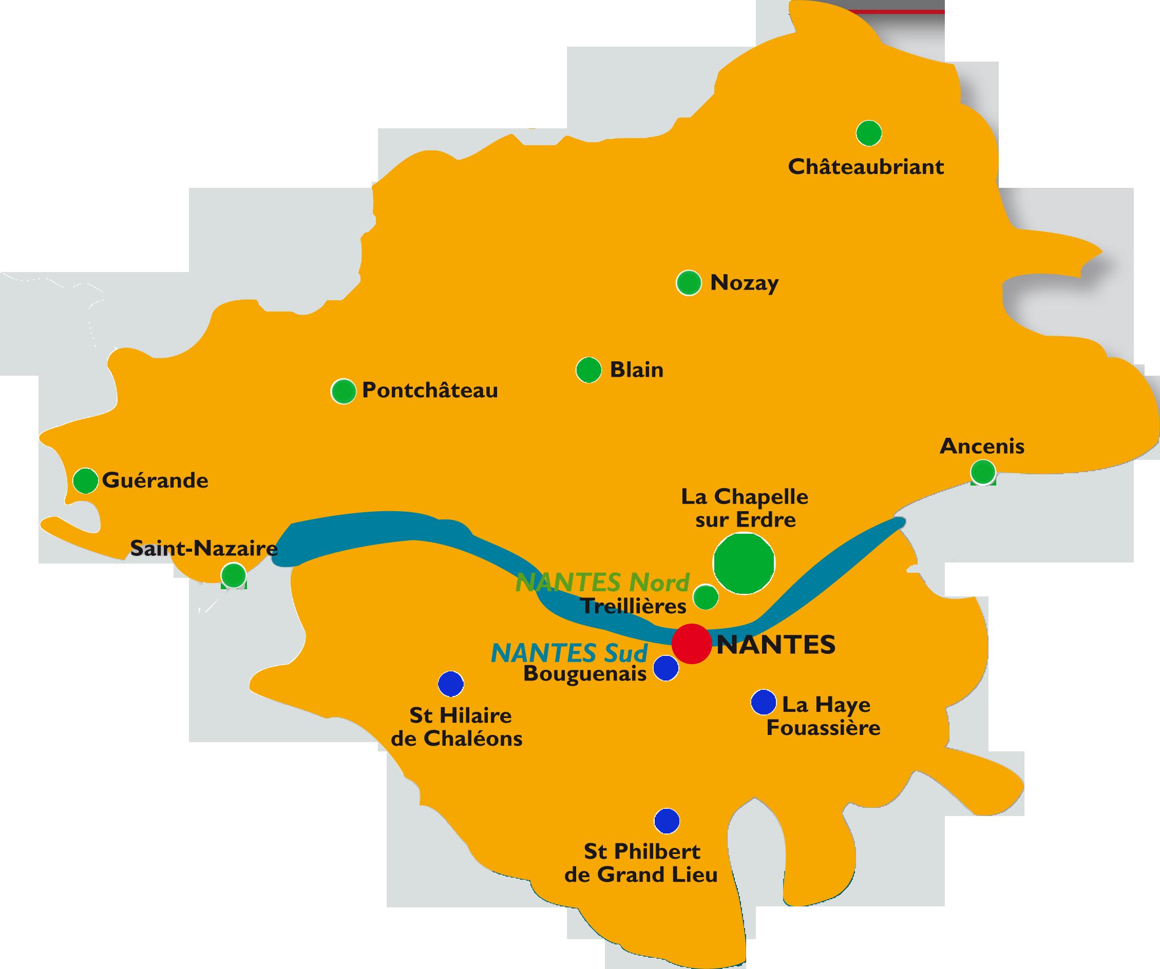 Vos agences en Loire-Atlantique